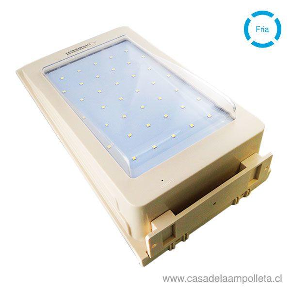 FOCO LED SOLAR 5W - BLANCO FRÍO (6000K)