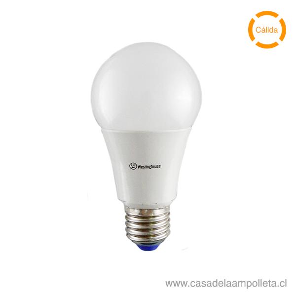 AMPOLLETA LED A60 CON SENSOR DIA/NOCHE 9W - BLANCO CÁLIDO (3000K)