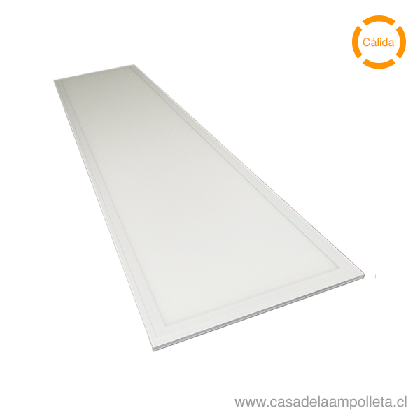 PANEL LED 120X30 EMBUTIDO 40W - BLANCO CÁLIDO (3000K)