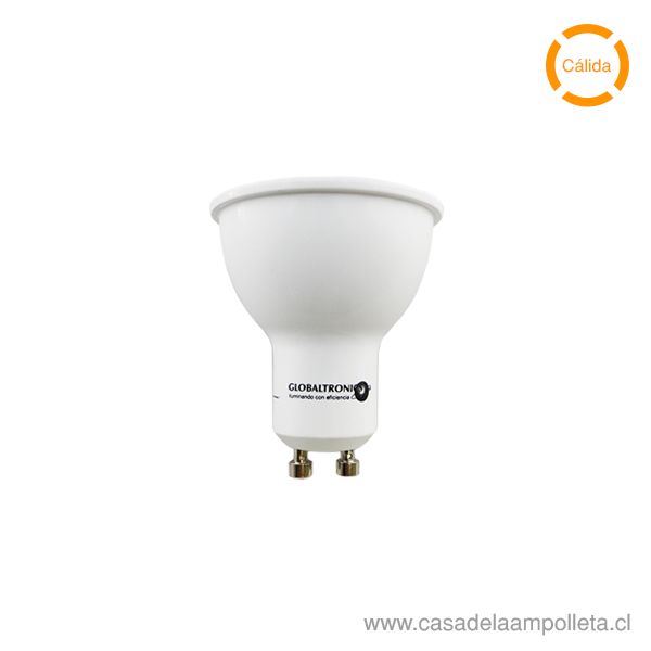 AMPOLLETA LED GU10 6,8W - BLANCO CÁLIDO (2700K)