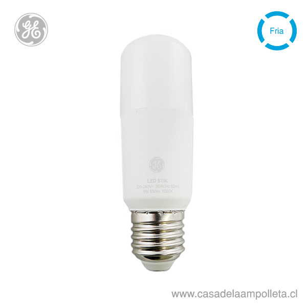 AMPOLLETA LED STIK 9W - BLANCO FRÍO (6500K)
