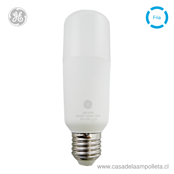 AMPOLLETA LED STIK 12W - BLANCO FRÍO (6500K)