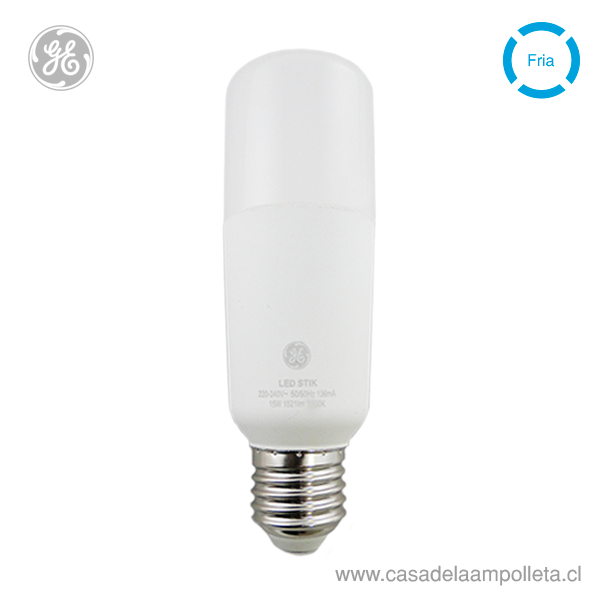 AMPOLLETA LED STIK 15W - BLANCO FRÍO (6500K)