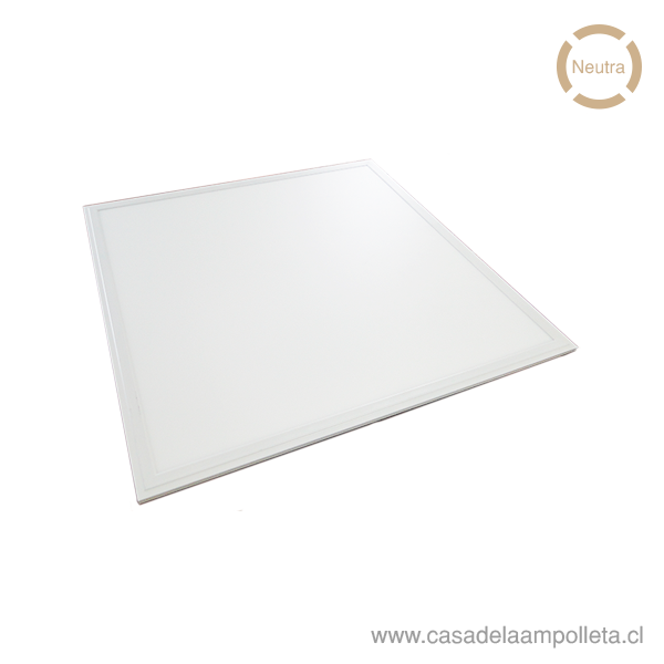 PANEL LED 60X60CM EMBUTIDO 40W - BLANCO NEUTRO (4000K-4500K)