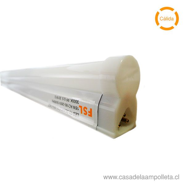 EQUIPO LED LINEAL T5 16W 120CM - BLANCO CÁLIDO (3000K)