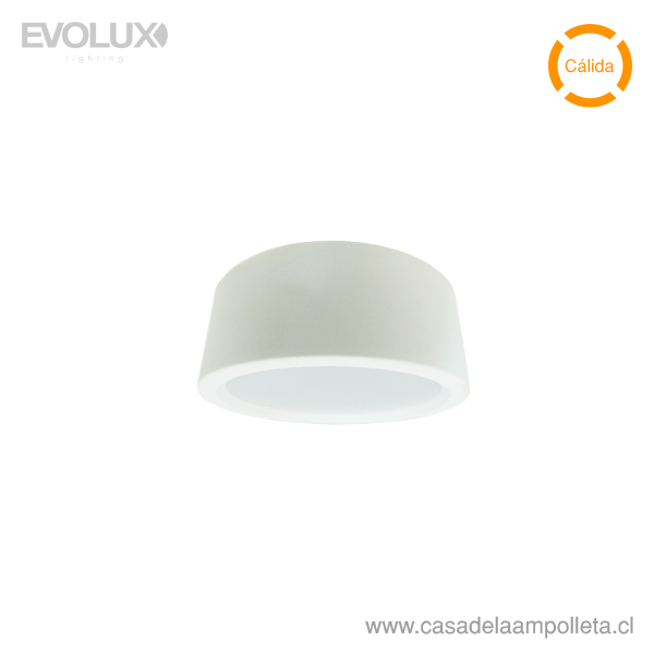PANEL LED WSLITE S SLIM 6W 120MM BLANCO IP54 - BLANCO CÁLIDO (3000K)