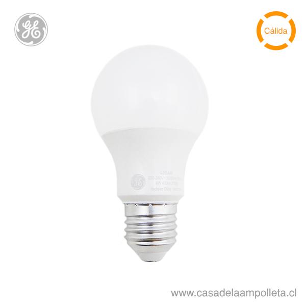 AMPOLLETA LED A60 6W (40W) - BLANCO CÁLIDO (2700K)