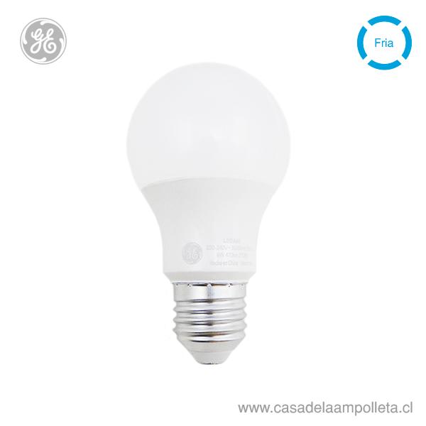 AMPOLLETA LED A60 6W (40W) - BLANCO FRÍO (6500K)