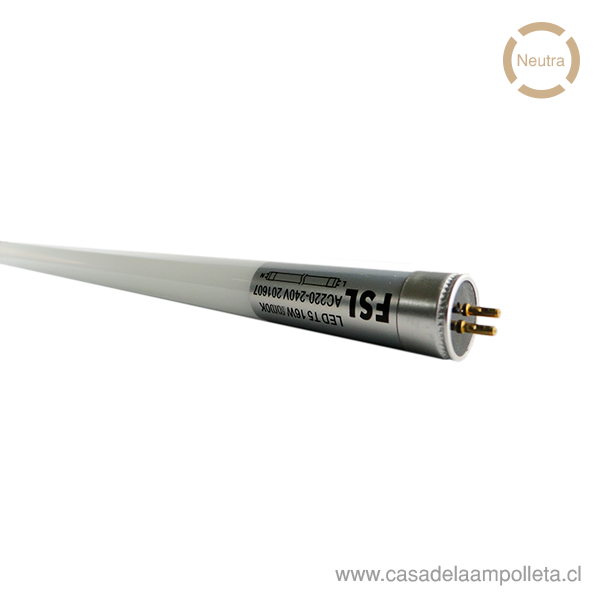 TUBO LED T5 16W - BLANCO NEUTRO (4000K)