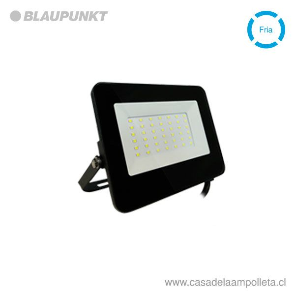 PROYECTOR LED PLANO 30W - BLANCO FRÍO (6500K) - BLAUPUNKT