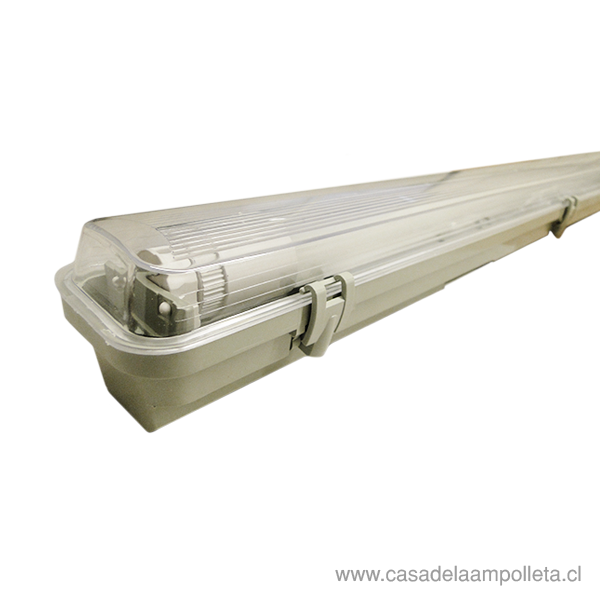 EQUIPO ESTANCO PARA TUBO LED 1X18W