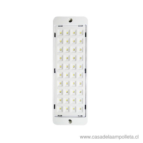 LAMPARA EMERGENCIA 40LED 4/17 HORAS