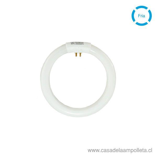 TUBO CIRCULAR FLUORESCENTE T5 20W