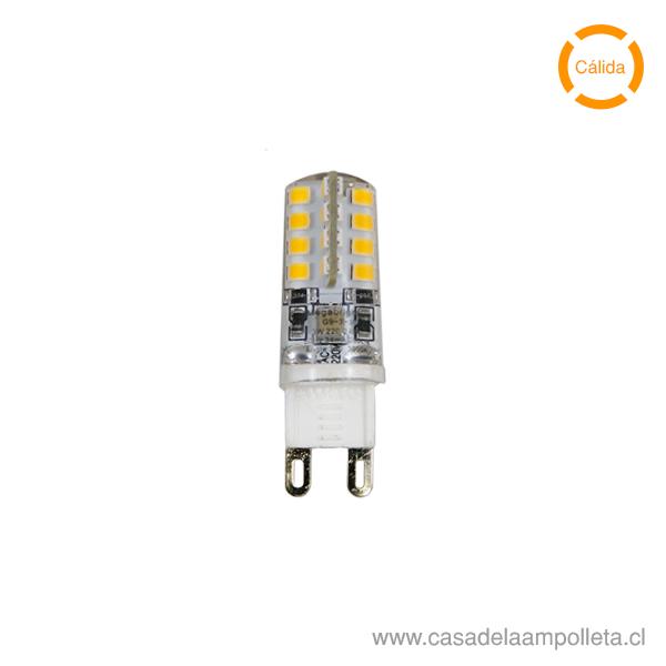 AMPOLLETA LED G9 3W - BLANCO CÁLIDO (3000K)