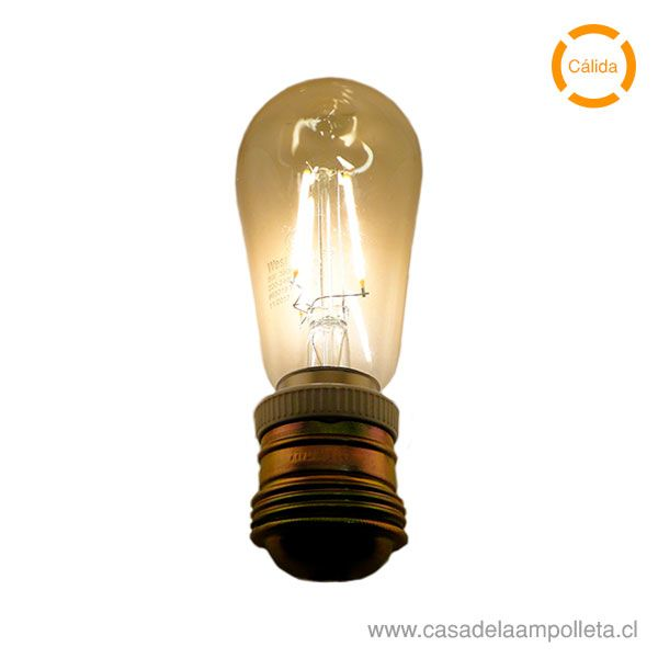 AMPOLLETA LED VINTAGE DIMEABLE 5W - CÁLIDA (2200K)