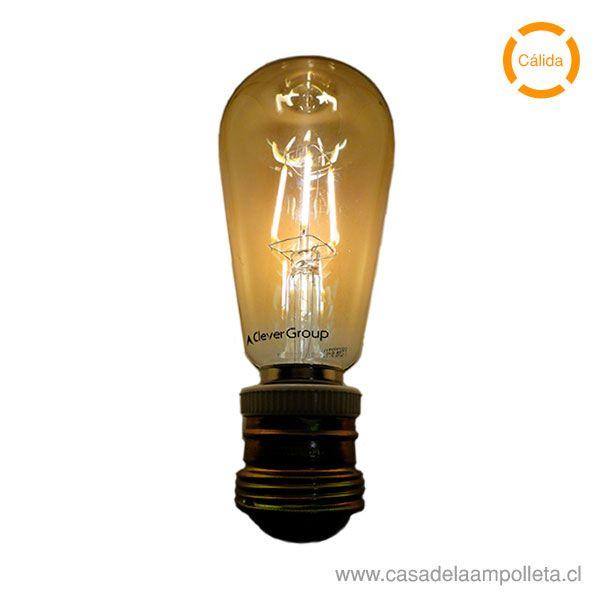 AMPOLLETA LED VINTAGE 4W - CÁLIDA (2200K)