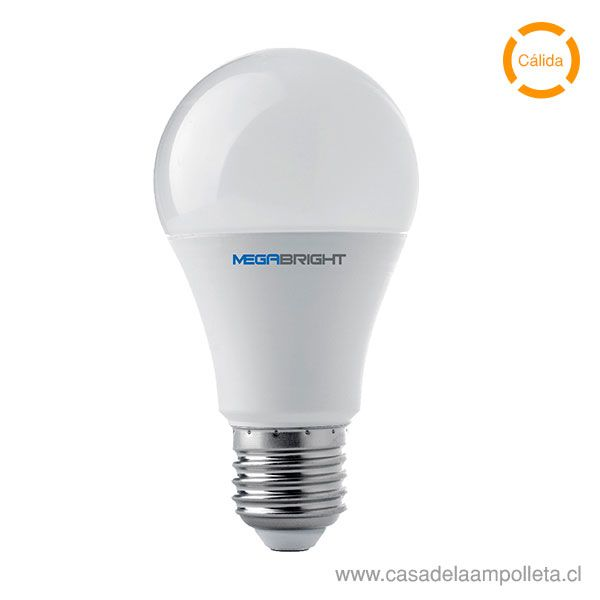 AMPOLLETA LED A60 9,5W - BLANCO CÁLIDO (3000K)