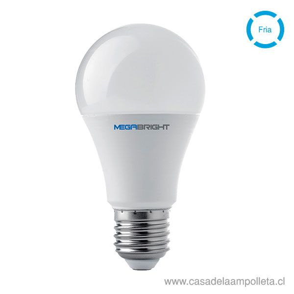 AMPOLLETA LED A60 9,5W - BLANCO FRÍO (6400K)