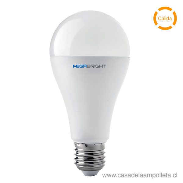 AMPOLLETA LED A65 15W - BLANCO CÁLIDO (3000K)