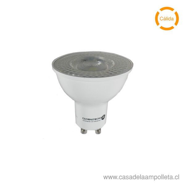 AMPOLLETA LED GU10 4,7W - BLANCO CÁLIDO (2700K)