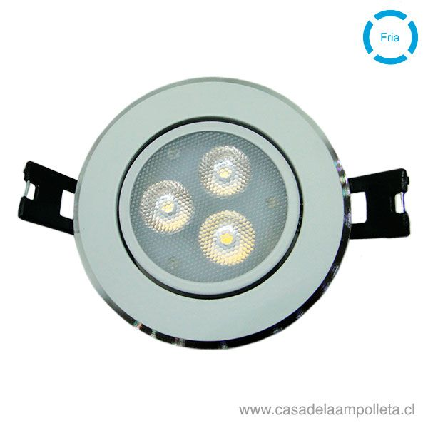 FOCO DOWNLIGHT LED 4W BLANCO FRÍO (6500K)