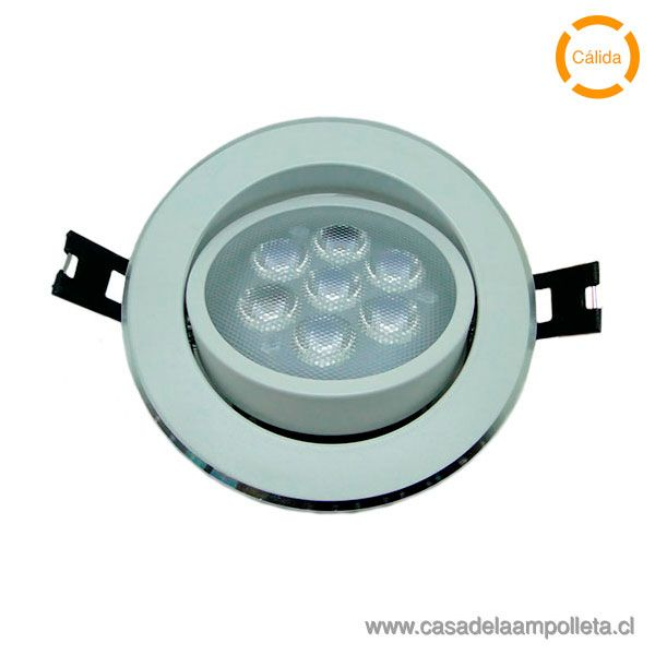 FOCO DOWNLIGHT LED 8W BLANCO CÁLIDO (3000K)
