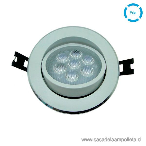 FOCO DOWNLIGHT LED 8W BLANCO FRÍO (6500K)