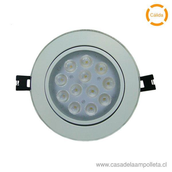 FOCO DOWNLIGHT LED 14W BLANCO CÁLIDO (3000K)