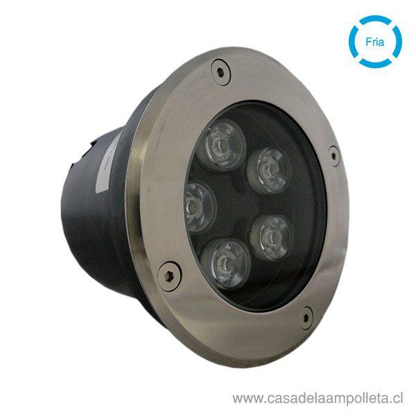 FOCO LED DE PISO 5W - BLANCO FRÍO (6500K)