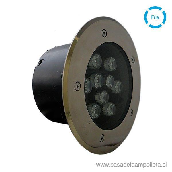 FOCO LED DE PISO 9W - BLANCO FRÍO (6500K)