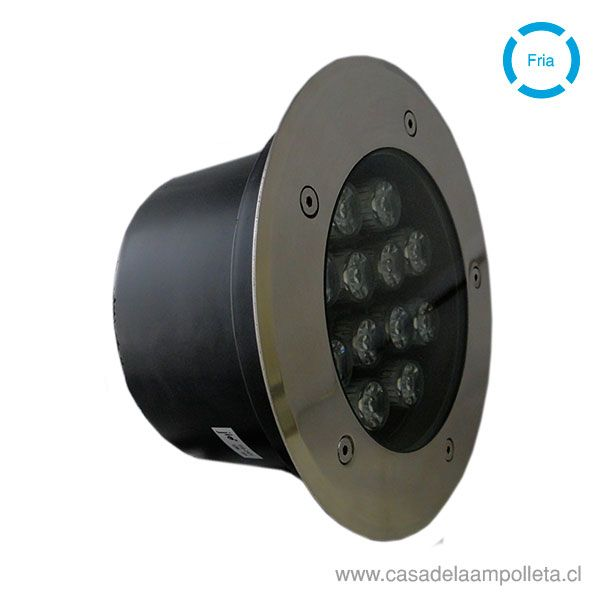 FOCO LED DE PISO 12W - BLANCO FRÍO (6500K)