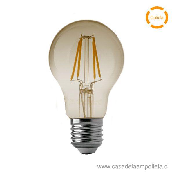 AMPOLLETA LED A60 VINTAGE 7W - BLANCO CÁLIDO (3000K)