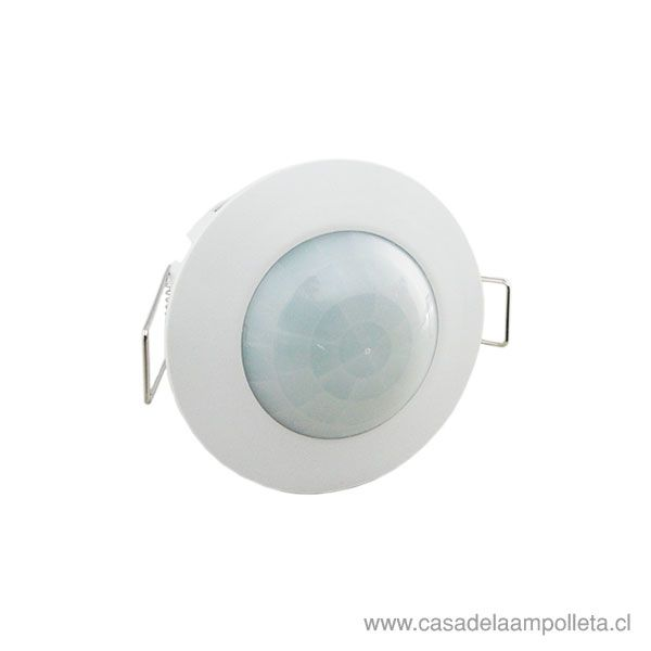 SENSOR DE MOVIMIENTO EMBUTIDO 360° - BLANCO