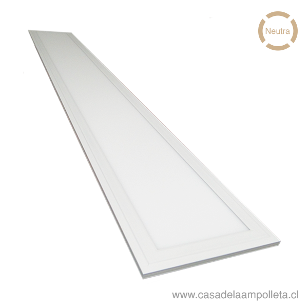 PANEL LED 120X60 EMBUTIDO 80W - BLANCO NEUTRO (4500K)