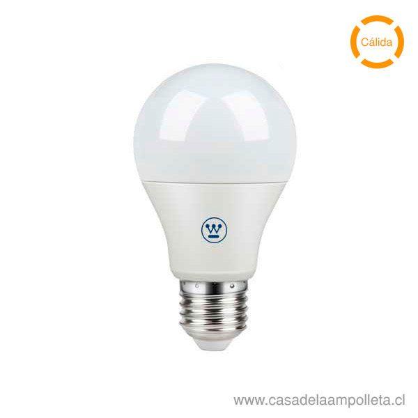 AMPOLLETA LED A55 9W - BLANCO CÁLIDO (3000K)