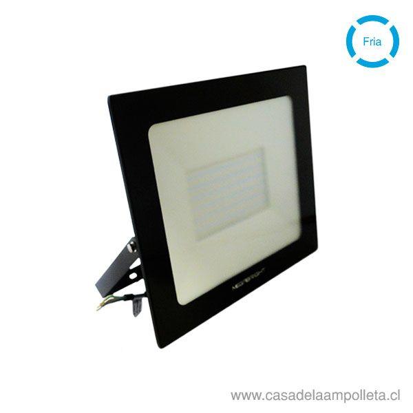 PROYECTOR LED PLANO 100W TELCO FLAT PRO  BLANCO FRÍO (6500K)
