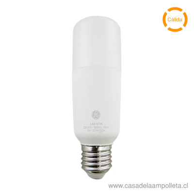 AMPOLLETA LED STIK 15W - BLANCO CÁLIDO (3000K)