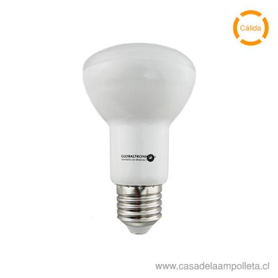 AMPOLLETA LED R63 7,2W - BLANCO CÁLIDO (2700K)