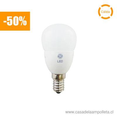 AMPOLLETA LED BOLA 4,5W - BLANCO CÁLIDO (2700K)