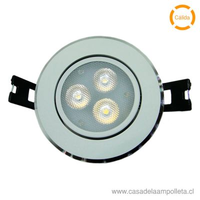 FOCO DOWNLIGHT LED 4W BLANCO CÁLIDO (3000K)