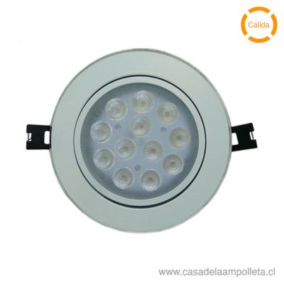 FOCO DOWNLIGHT LED 14W BLANCO CÁLIDO (3000K)