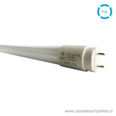 TUBO LED T8 18W 120CM - BLANCO FRÍO (6500K)