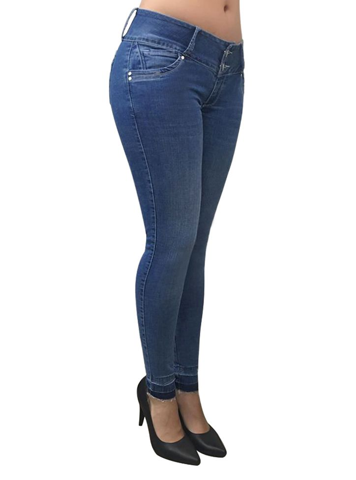 Jeans Levantacola Colombiano J-6105 Truccos Jeans - PaoPink