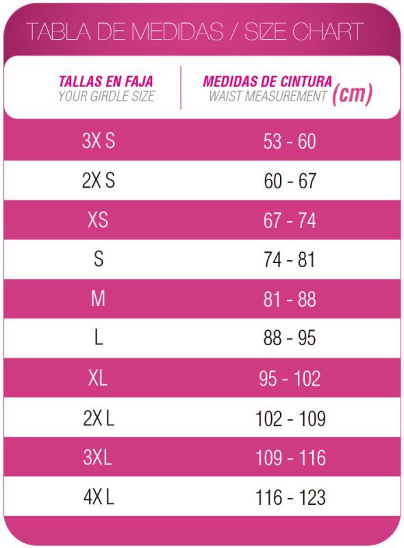 Faja Colombiana Corset Látex Negra FNL-0557 MyD - PaoPink