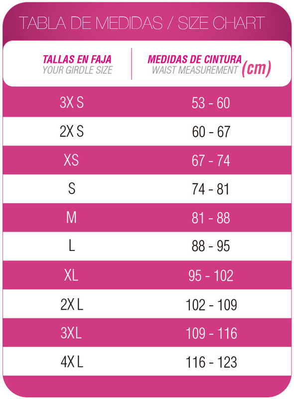 Faja Colombiana Corta Negra FN-0048 MyD - PaoPink