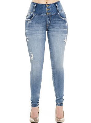 Jeans Levantacola Colombiano J-6073 Truccos Jeans - PaoPink1