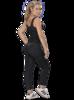 Calza o Leggings con control de abdomen Negra LN-0591 MyD - PaoPink
