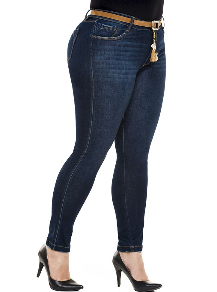 Jeans Levantacola Colombiano Talla Plus JP-2080 - PaoPink