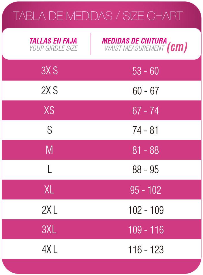 Faja Colombiana Corset Látex Fucsia FFL-0557 MyD - PaoPink