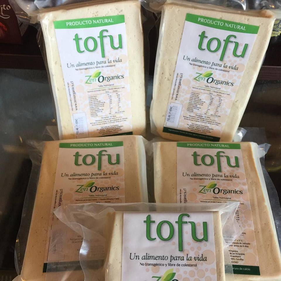 Tofu No Transgénico Zen Organics (300 gr. Aprox.)